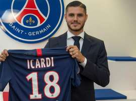 Icardi is expected to make his PSG debut against Strasbourg. GOAL