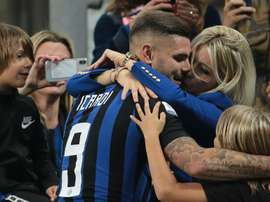 Icardi was omitted from Inter's Europa League squad recently. GOAL