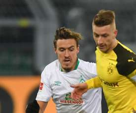 Borussia Dortmund v Werder Bremen : 2018. Goal