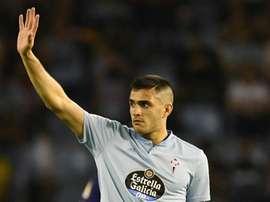 Valencia win race for Celta Vigo forward Gomez. GOAL