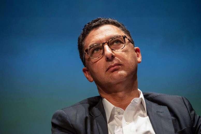 Maxime Saada (Canal+) demande à la LFP de faire un nouvel appel d'offres pour la Ligue 1. afp