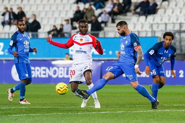 Spano et Chergui en contact avec Valenciennes. Goal