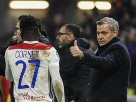 L'agent de Cornet parle du joueur des Gones. Goal