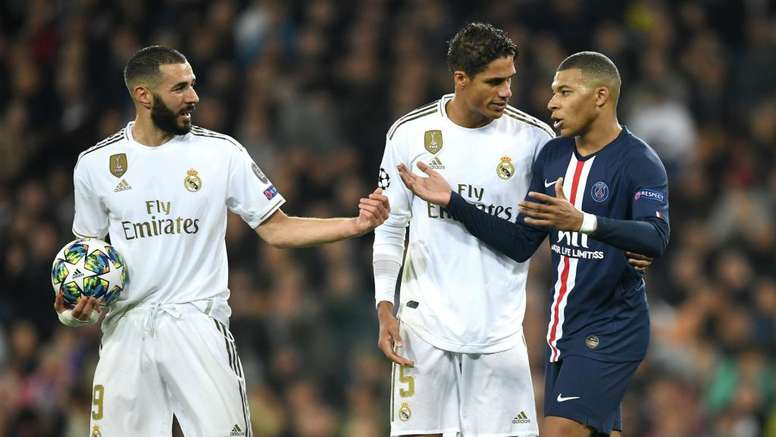 Mbappé has been linked with Real Madrid. GOAL