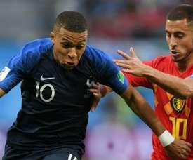 Mbappe was full of praise for Hazard's ability. GOAL