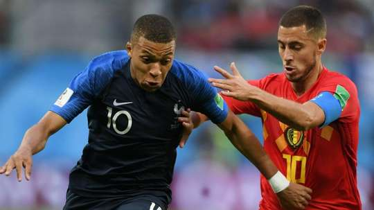 Mbappe was full of praise for Hazard's ability. GOAL