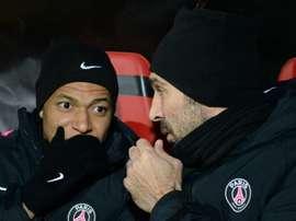 Mbappé, Buffon.