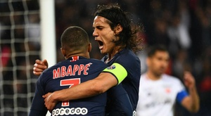 Cavani has been linked with Tottenham. GOAL