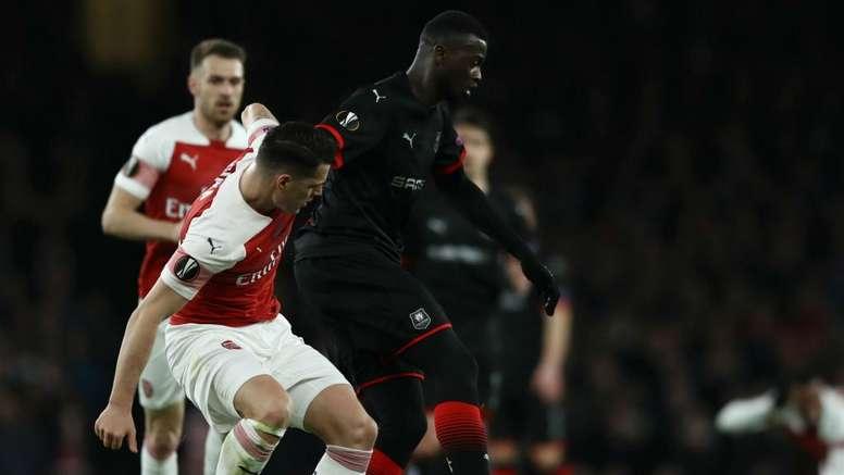 Rennes a été sorti par Arsenal. Goal