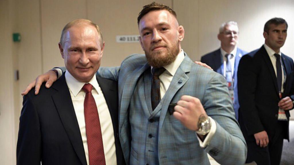 McGregor praises Putin after attending World Cup final