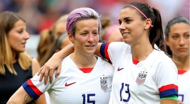 USA pair Rapinoe and Morgan up for FIFA Best honour. GOAL