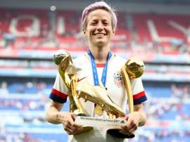 Rapinoe had a great WWC and is on The Best shortlist. GOAL