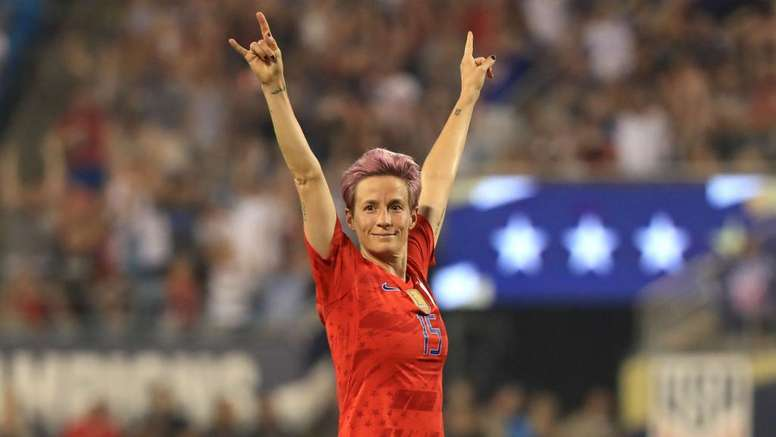 Rapinoe wins Ballon d'Or award. GOAL