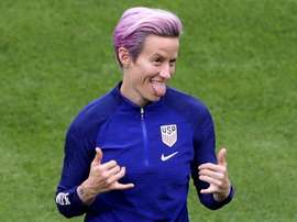 Rapinoe did not play versus England and was maybe rested for the final. GOAL
