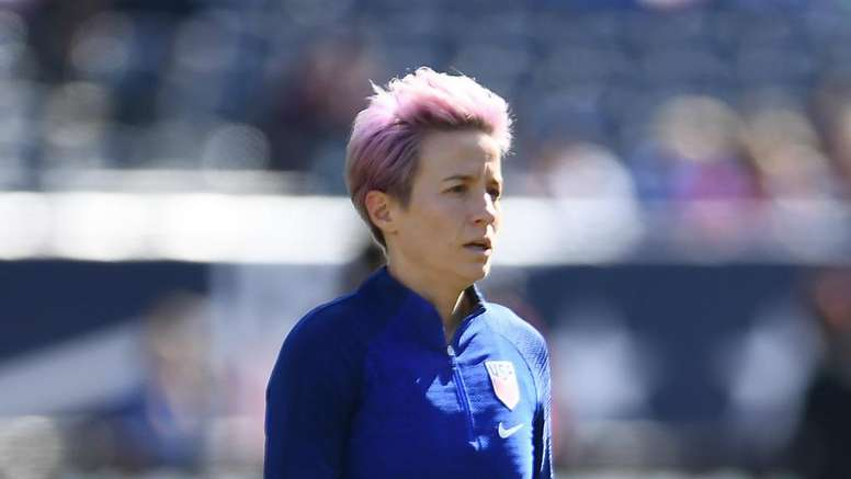 Rapinoe says not even is being done to eradicate racism from football. GOAL