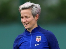 Megan Rapinoe backs Serena Williams over equal pay fight. GOAL