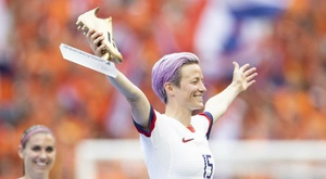 Rapinoe bemused by Barcelona speculation but open to offers