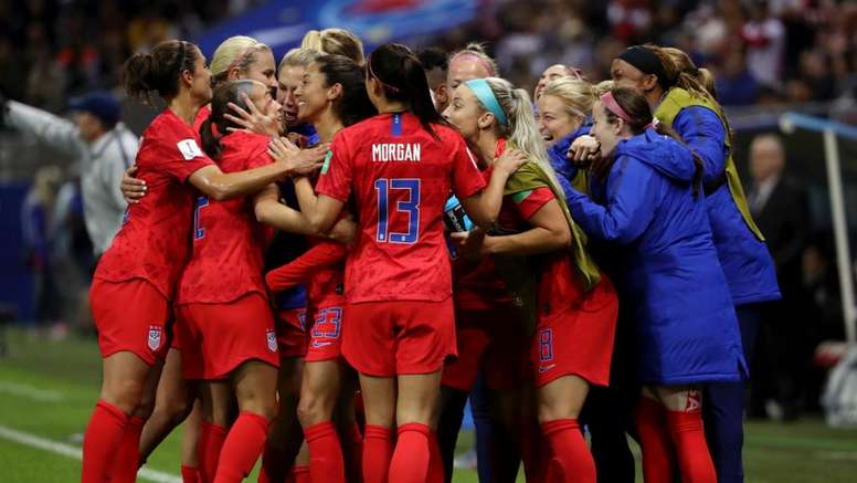 USA have been criticised for their celebrations in their thrashing of Thailand. GOAL
