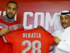 Al Duhail, Benatia si presenta