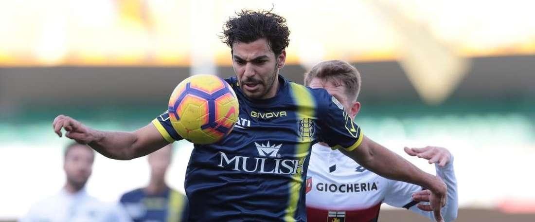 Mehdi Leris Chievo Genoa Serie A