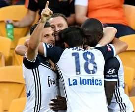 Victory claimed a morale-boosting win ahead of the Melbourne derby. GOAL