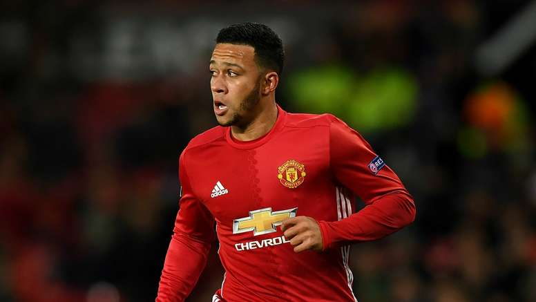 Memphis Depay has hardly featured for United this season. Goal