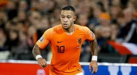 L'attaccante olandese del Lione Memphis Depay.