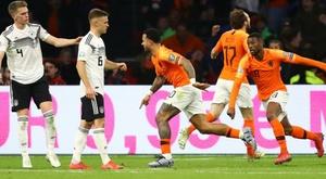 A Alemanha foi mais forte e venceu a Holanda. Goal