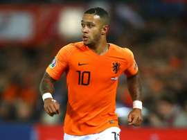 Netherlands without Depay for Belarus qualifier