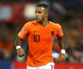 Netherlands without Depay for Belarus qualifier