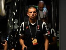 Il difensore turco della Juventus Demiral. Goal