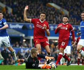 Everton have a dismal recent record in the Merseyside derby. GOAL