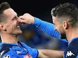 Brescia-Napoli, azzurri a caccia di punti per l'Europa