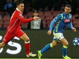 Napoli supera la Stella Rossa. Goal