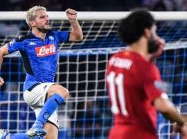 Naples se paye Liverpool, le champion en titre ! AFP