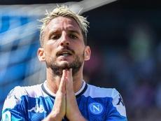 Naples, le salaire proposé à Dries Mertens pour prolonger révélé. AFP