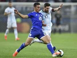 Messi Argentina Paraguay Copa America 2019