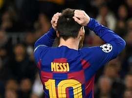 Messi: Barça não está pronto para vencer a Champions. Goal