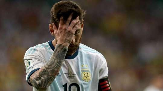 Messi começa Copa América como terminou as outras: cabisbaixo. Goal