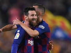 Messi reaches his century under Valverde as Barcelona cut loose