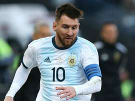Messi was disappointed at the cancellation of the Copa América. GOAL