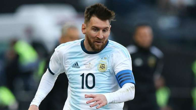 Messi in squad for Argentina's World Cup qualifiers. AFP