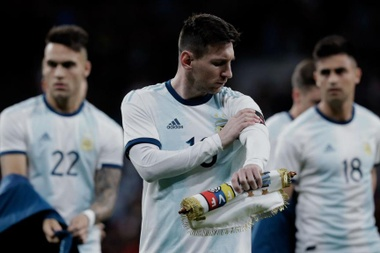 Messi has played very few minutes for Argentina since the 2018 World Cup. GOAL