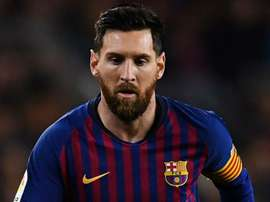Messi was in attendance at the Copa Libertadores final. GOAL