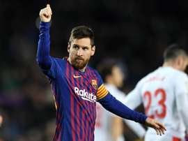 Messi was keen to hand credit to his team mates. GOAL
