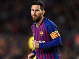 Messi only came fifth at this year's Ballon d'Or awards. GOAL