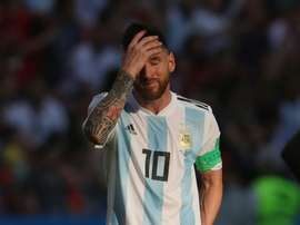 Messi has struggled with Argentina. GOAL