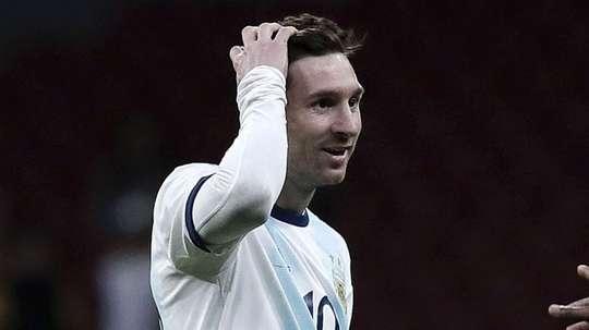 Valdano backs Messi. GOAL