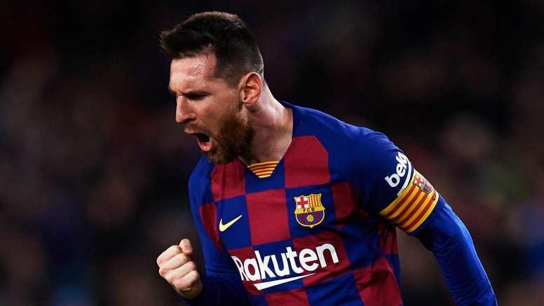 Lionel Messi is the best footballer I've ever seen. AFP