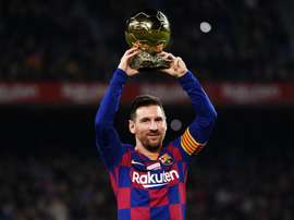 Messi won the Ballon d'Or. GOAL